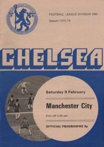chelsea away 1973 to 74 prog
