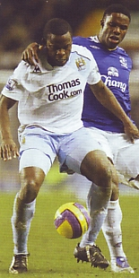 everton away 2007 to 08 action