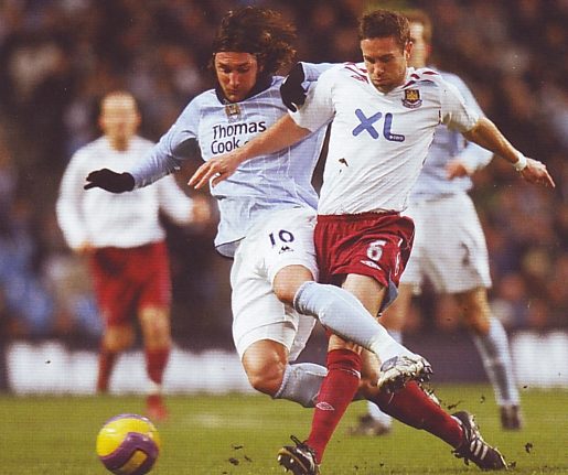 west ham home 2007 to 08 action