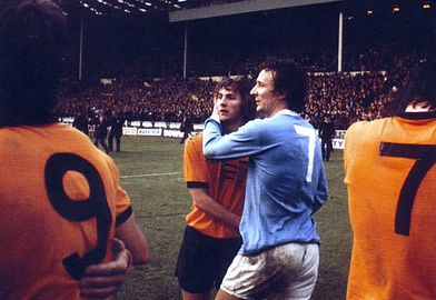 wolves league cup final 1973 to 74 celeb