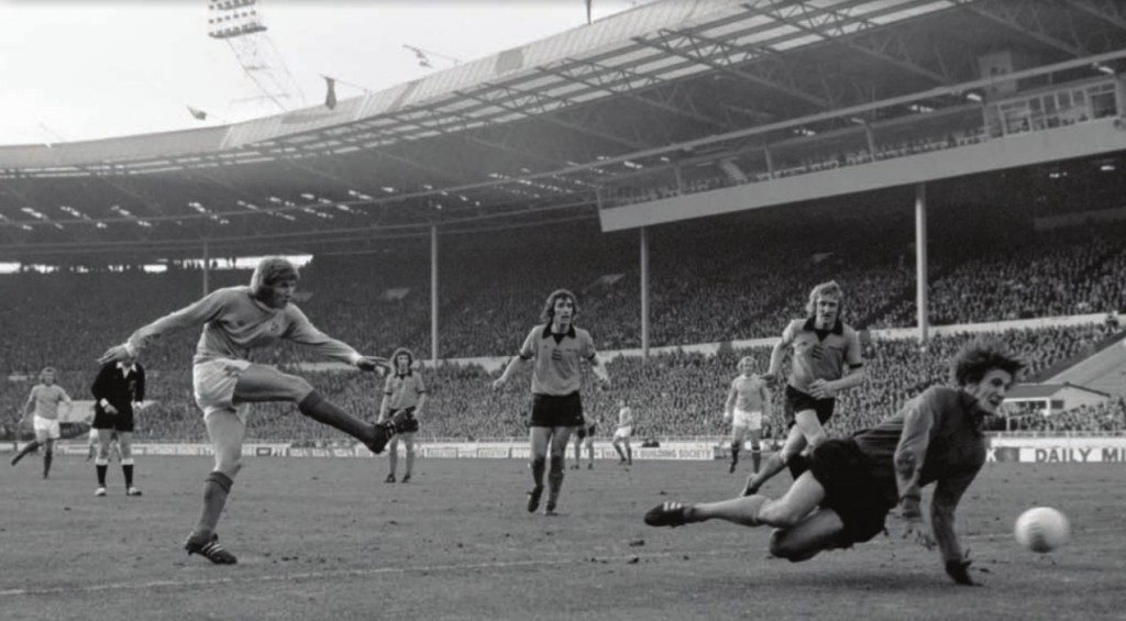 wolves league cup final 1973 to 74 hd bell goal