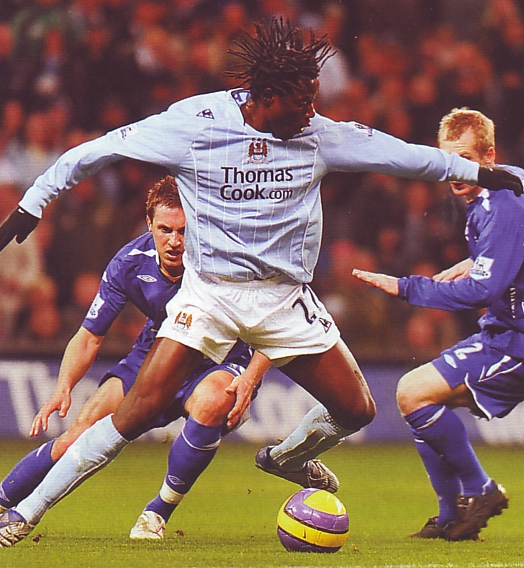Everton home 2007 to 08 action