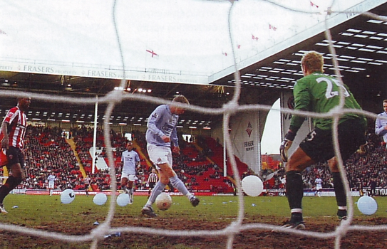 sheffield united fa cup 2007 to 08 balloon goal