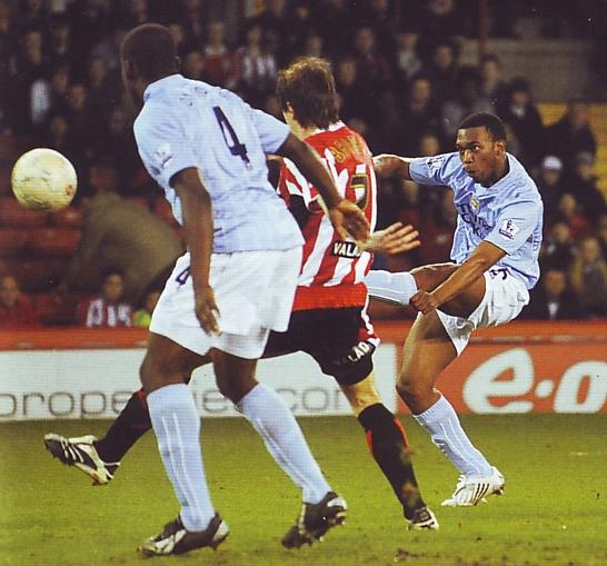 sheffield united fa cup 2007 to 08 sturridge goal