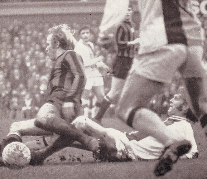 Crystal palace away 1971 to 72 action
