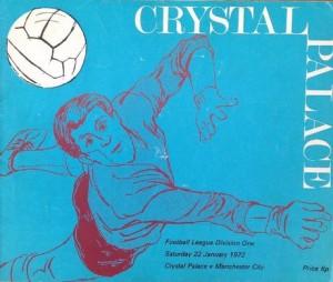 Crystal palace away 1971 to 72 prog