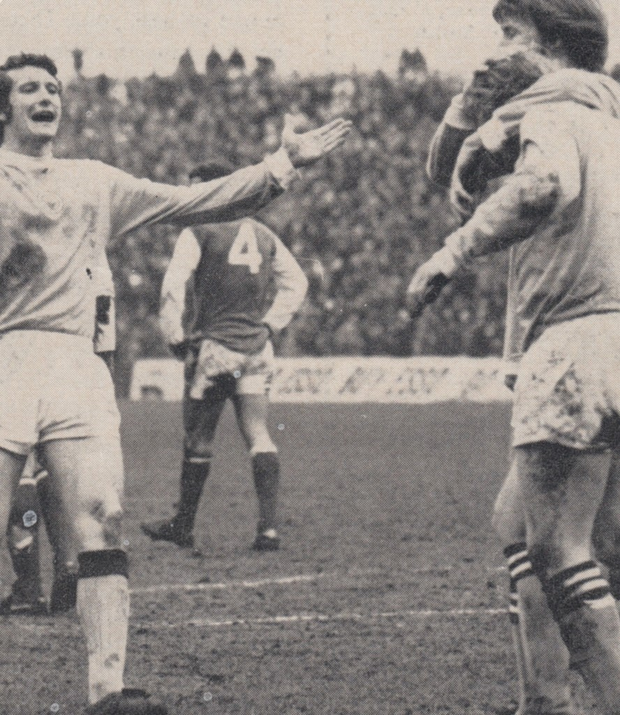 arsenal home 1971 to 72 2nd city goal scored by lee