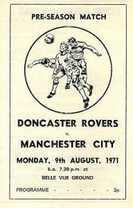 doncaster friendly 1971 to 2 friendly