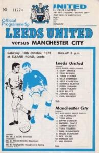 leeds away 1971 to 72 prog