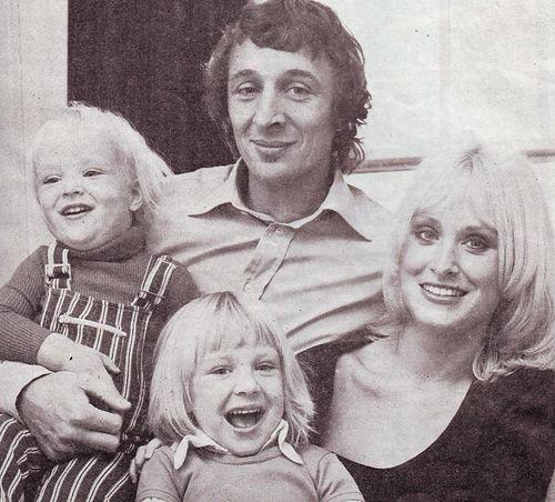 mike summerbee Tina Nicholas Rachel 1973
