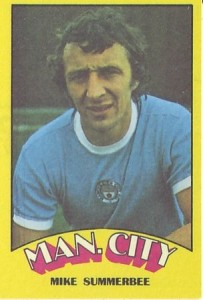 mike summerbee card front