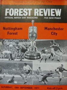 notts forest away 1971 to 72 prog