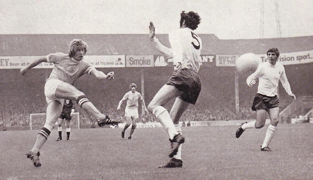 tottenham home 1971 to 72 bell goal