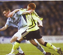 Youth cup final 2007 to 08 action