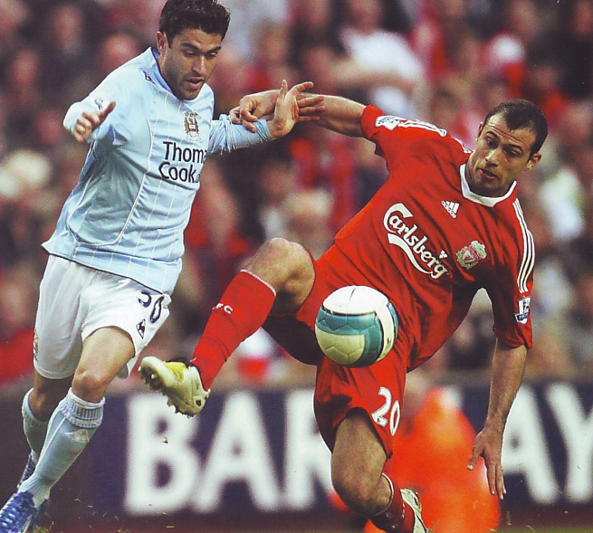 liverpool away 2007 to 08 action