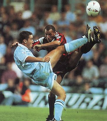 Coventry away 1995 to 96 action2