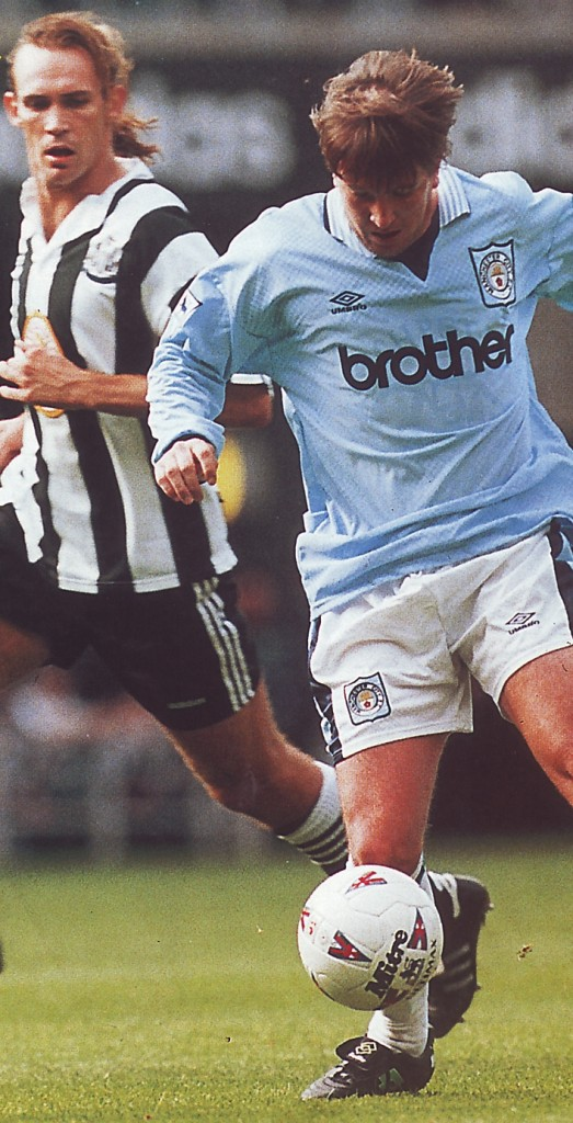 Newcastle away 1995 to 96 action