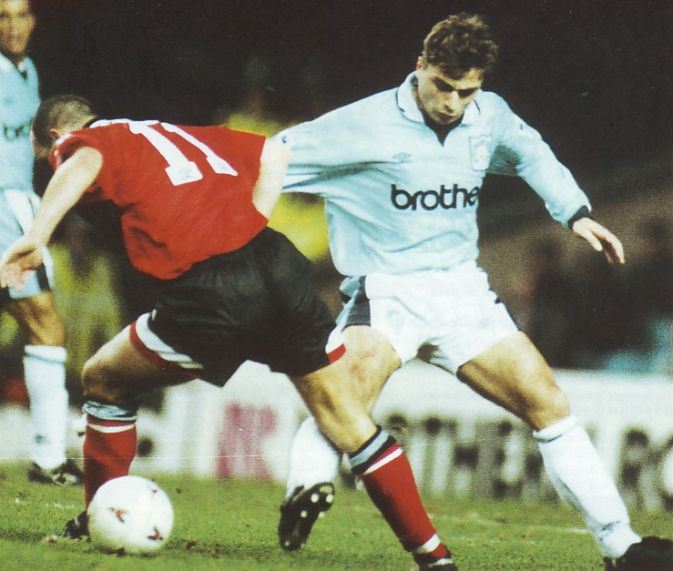 Notts F Home 1995 to 96 action
