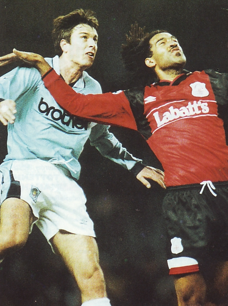 Notts F Home 1995 to 96 action2