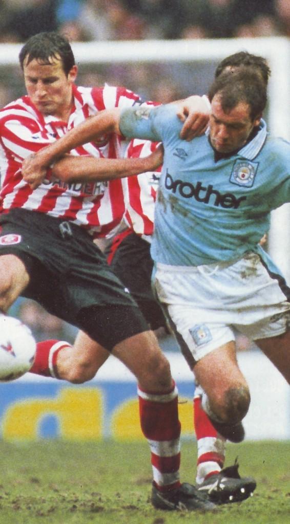 Southampton home 1995 to 96