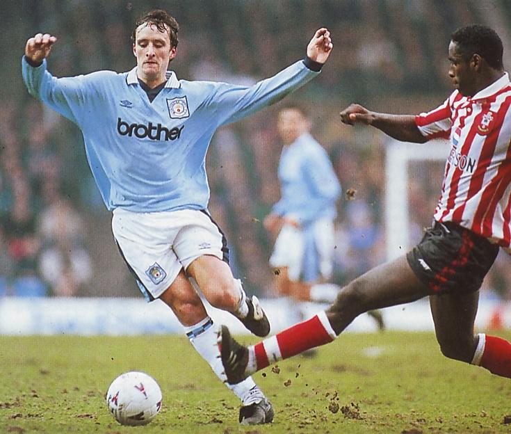 Southampton home 1995 to 96 action