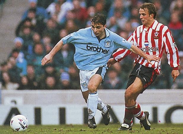 Southampton home 1995 to 96 action2