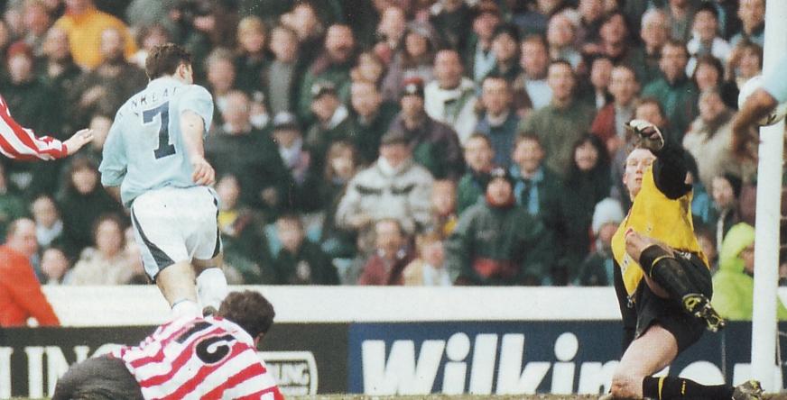Southampton home 1995 to 96 kinky goal