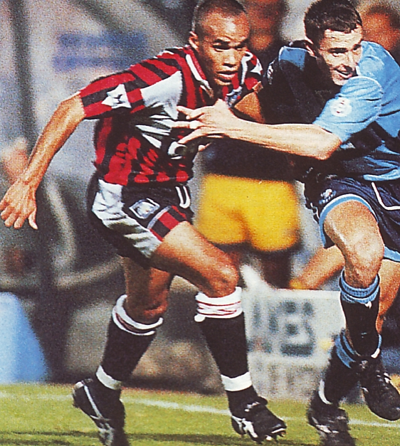 Wycombe away 1995 to 96 action2