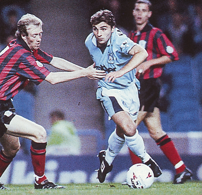 Wycombe home 1995 to 96 action
