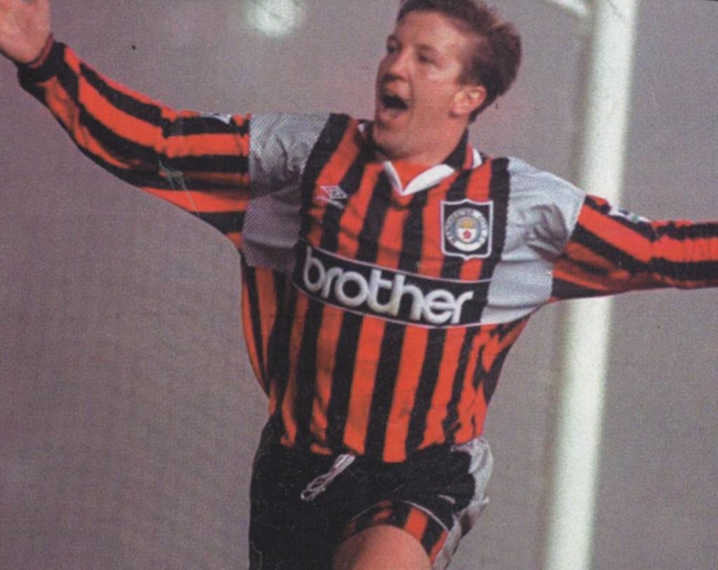 leeds away 1995 to 96 creaney goal2