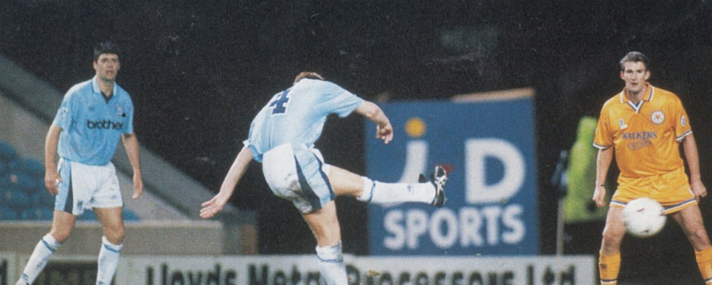 leicester home fa cup 1995 to 96 lomas goal5