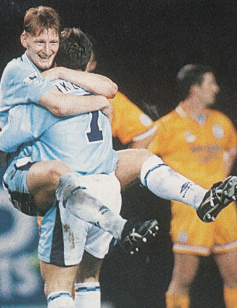 leicester home fa cup 1995 to 96 lomas goal6