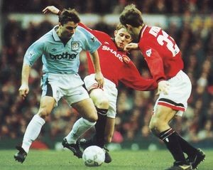 man u away fa cup 1995 to 96 action4a