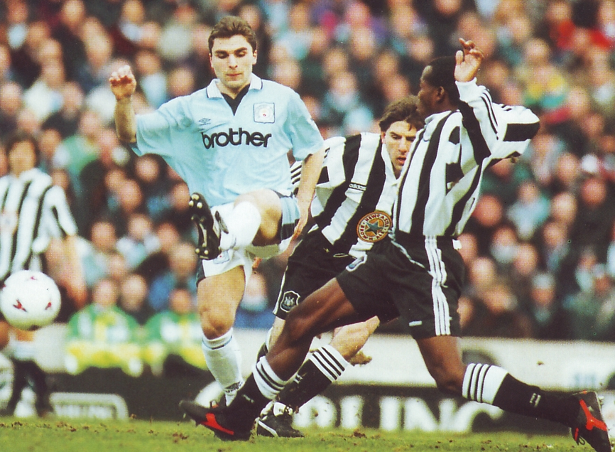newcastle home 1995 to 96 action