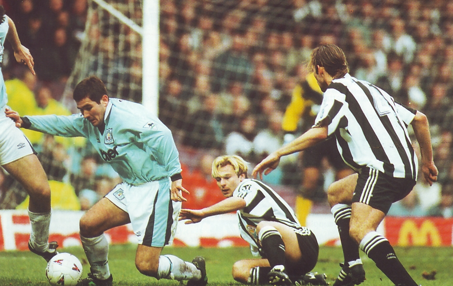 newcastle home 1995 to 96 action2