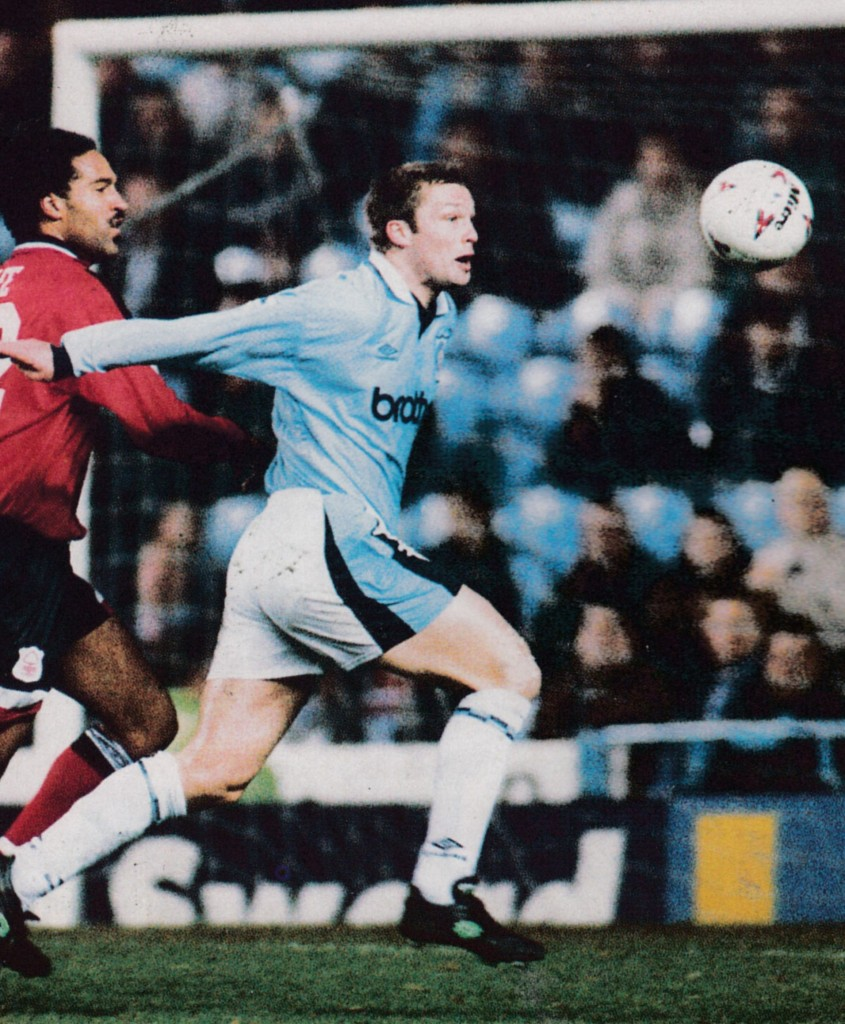 notts forest home 1995 to 96 action8