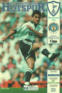 tottenham away 1995 to 96 prog