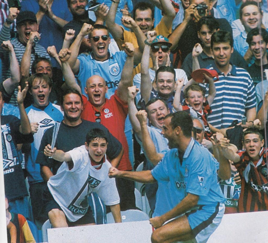 tottenham home 1995 to 96 rosler goal 3