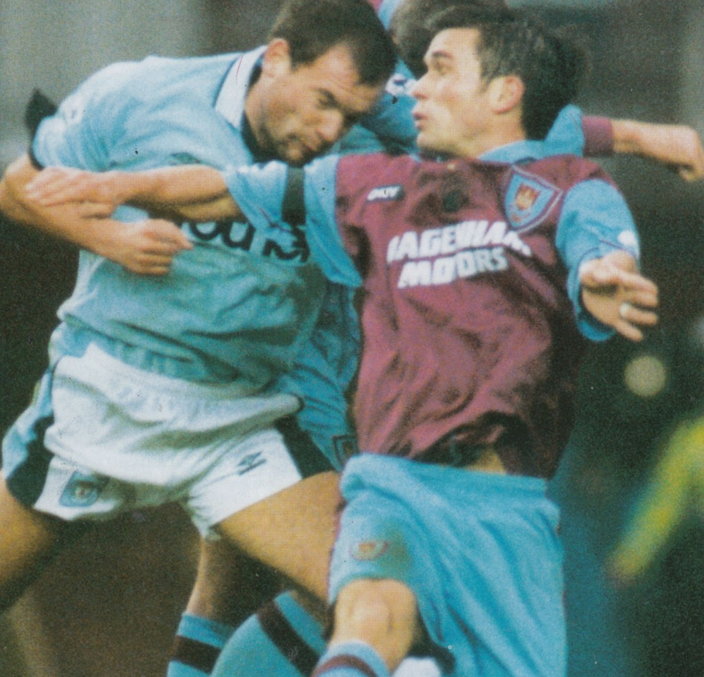 west ham home 1995 to 96 action5