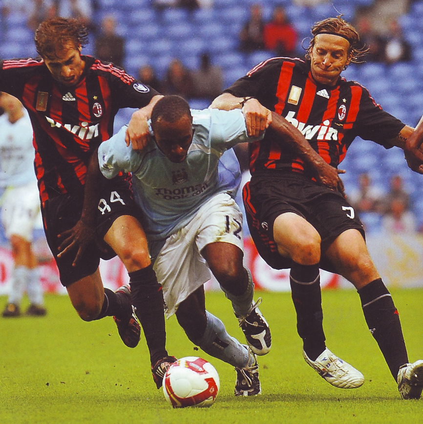 AC Milan friendly 2008 to 09 action