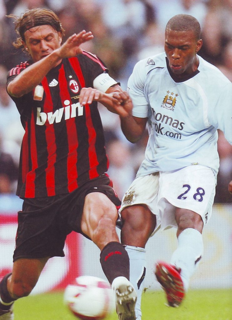 AC Milan friendly 2008 to 09 action2