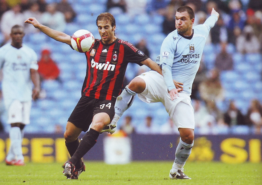 AC Milan friendly 2008 to 09 action3