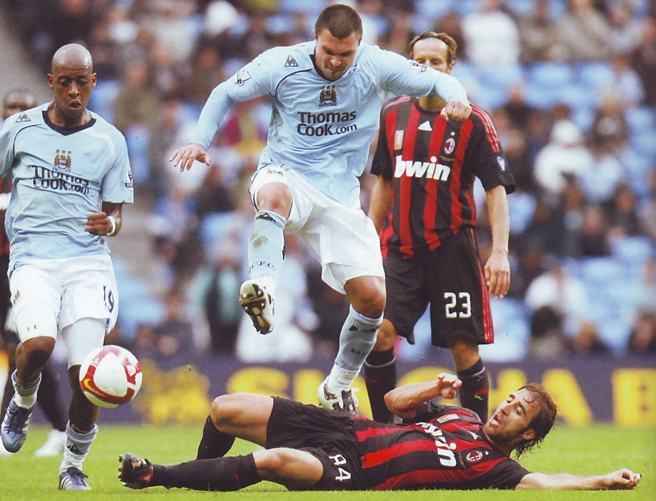 AC Milan friendly 2008 to 09 action4