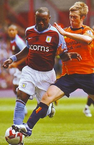 Aston villa away 2008 to 09 action 2