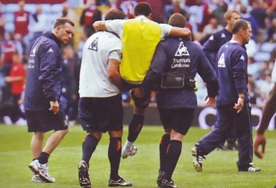 Aston villa away 2008 to 09 bojinov injury