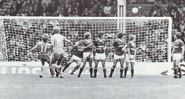 barnsley home 1983 to 84 tolmie 1st goal