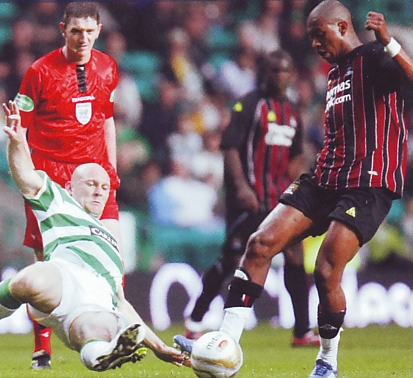 celtic away 2008 to 09 action
