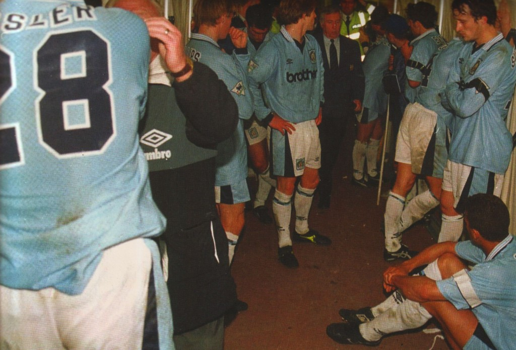 liverpool home 1995 to 96 dejected tunnel