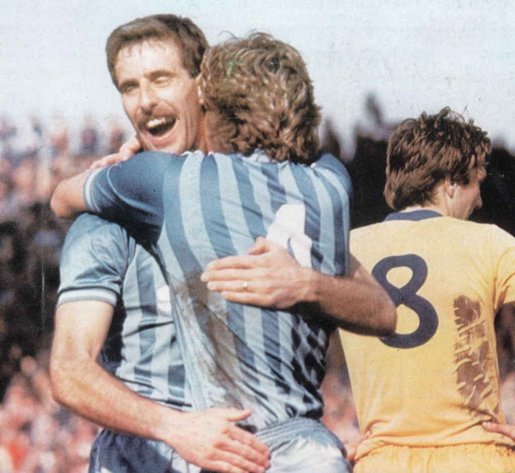 huddersfield home 1983 to 84 action 5