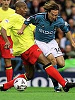 Watford home 2001 to 02 action